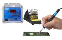 Skilled solderers will compete using the PACE ADS200 AccuDrive Soldering Station during the IPC Hand Soldering Competition at What's New in Electronics (WNIE) Show in UK