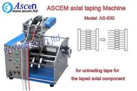 axial component De-Taping Machine
