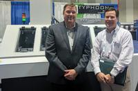 Mike Schwager, President of Aqua Klean Systems, and Lee Wyatt, President of Amptech.