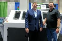 Mike Schwager, President of Aqua Klean Systems, and Dave Woodbury, President of EMS Solutions.