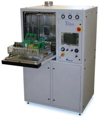 Trident III is the flagship of the Trident Series automatic defluxing and cleanliness testing systems