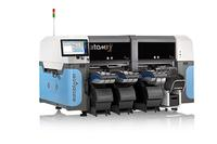 Europlacer's multi-award-winning atom3 placement machine.