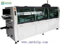 Automatic wave soldering production line