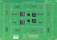 MTC, Coventry Test Board used for printing, jetting and solder joint inspection