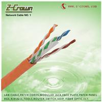Factory supply cable utp cat5e and cat6 lan cable 305m