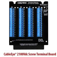 The CB29H is also available as a stackable transition board variant (CB29AH) for mounting on harness board looms.