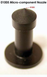 01005 Micro-component nozzle.
