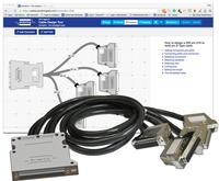 The Cable Design Tool allows users to create customized cable assemblies using very detailed design characteristics including a selection of connector types, wire type, pin definitions, pin and cable labeling, cable bundling, length selection, sleeving comments and more.