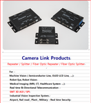 Fiber Optic Camera Link Interface (Repeater, Splitter) for 3D AOI , SPI