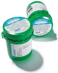 Cobar Solder Products' XF3+ lead-free solder paste accommodates extended reflow profiles with or without the use of nitrogen.