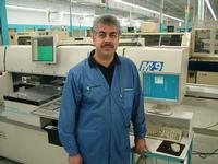 Isam Ali, Computrol's QA Manager