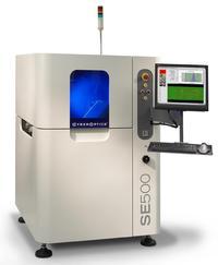 SE500™ 100 percent 3-D solder paste inspection system.