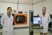 Van Huynh, Test Operations Manager, and Rob Boguski, President & CEO of Datest