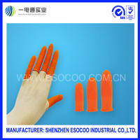Anti-static finger cots
