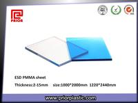 ESD acrylic sheet for dust-free workshop
