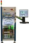 Inline test system for incircuit and functional tests with wireless interface