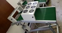 Wave Exit Conveyor With Fans Width 18 - 24 inches