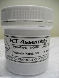 FCT Assembly's NC676 No-Clean Solder Paste