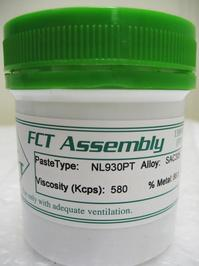 NL930PT paste features excellent solderability, enabling the process to handle the most difficult wetting requirements.