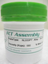 NL930PT - a no-clean, lead-free, halogen-free pin probable solder paste.
