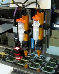 GPD's PCD Dispensing provides next-generation volumetric dispensing and is compatible with materials used in electronics assembly.