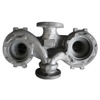 Grey Iron Dual Arm Pump Casing Casting