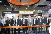 Ribbon cutting ceremony at the IPC APEX Expo in San Diego, CA.