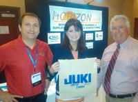Todd O'Neil, JAS, Inc. OEM Business Manager, Lt. Gov. Kleefisch, and Dave Trail, President of Horizon Sales