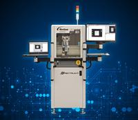 Spectrum™ II Premier automated fluid dispensing system with built-in automated optical inspection system.