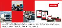 Innodisk Certified Storage Solutions are perfect for In-Vehicle Computing Systems