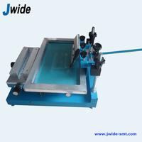 High precision manual PCB screen printer