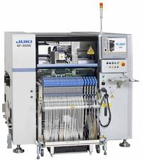 KE-3020 pick and place system features the company's latest leading-edge technology for improved flexibility and production quality.