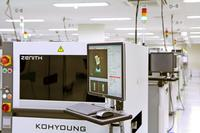 The Koh Young Zenith 3D AOI system measures the true profilometric shape of components, solder joints, patterns and even foreign material on assembled PCBs with patented 3-dimensional measurement, overcoming the shortcomings and vulnerabilities of traditional 2D AOI.