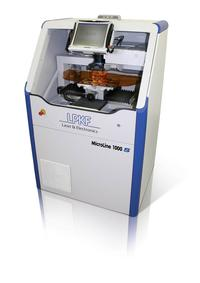 The MicroLine 1000 S laser system presents a compact, cost-effective method for UV-laser depaneling of thin-rigid and rigid-flex assembled PCBs