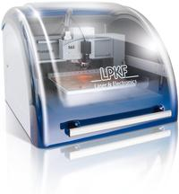 ProtoMat® E33, an entry-level milling machine for in-house rapid PCB prototyping.
