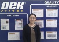 Liang Zong, DEK's new Business Improvement Engineer.
