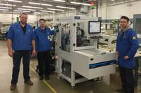 Jim Hanzel – Manufacturing Engineer, Libra Industries, Matt Tringhese – Manufacturing Production Manager, Libra Industries, and Tobias Rothmund – After Sales Technician, Schunk Electronic.