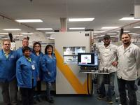 Viscom's new X8011-II PCB X-ray inspection system at its Dallas, TX facility.