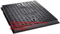 Drainage System Cast Iron Manhole Covers with Resin Casting Process