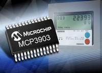 MCP3903 Six Channel Delta Sigma A/D Converter