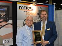 Ed Zamborksy, Metcal's RSM, with David Leventhal, REStronics Metro.