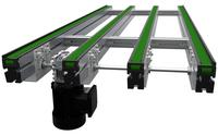 The Multi-Strand Pallet Handling Conveyor System is the foundation of the Glide-Line System. The Conveyor is designed to transport PV panels through the assembly process.