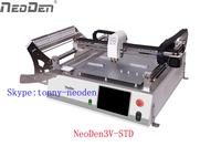 Newest Bentchtop Pick and Place machine NeoDen3V with cameras-Upgrade version of TM245P