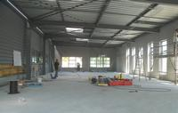 Europlacer's new customer centre and demonstration room facility at Rocheserviere in the final stages of construction.