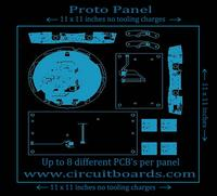 Printed Circuit Board (PCB) Prototypes Proto Panel Deal