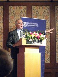 Senior Deputy Vice-Chancellor Professor Michael Keniger