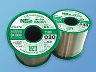 SN100C (030) is a high-reliability no-clean flux-cored lead-free solder wire.