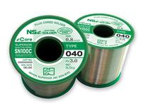 SN100C (040), halogen-free lead-free flux-cored solder wire