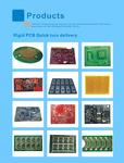 Electronic PCB Manufacturer/Design With PCBA Gerber Files And Bom list,pcb copy