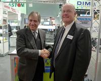 L to R: José Mas, Managing Director of Estanflux, and Kevin Laphen, President, of Practical Components